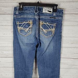 Rock & Roll Cowgirl womens boyfriend jeans